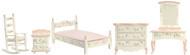 Dollhouse City - Dollhouse Miniatures Pink Bedroom Set