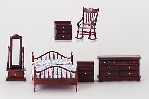 Master Bedroom Set - Mahogany