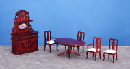 6pieces Dining Room - Mahogany - CB