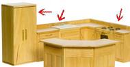 Appliance Set - Oak
