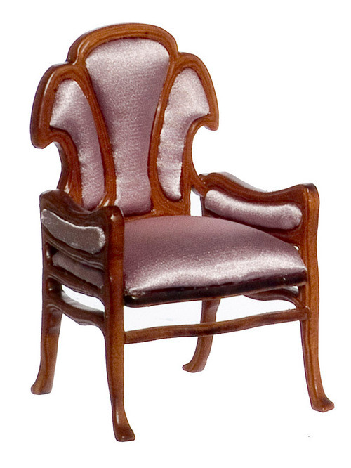 Guadie Art Noveau Chair - Walnut