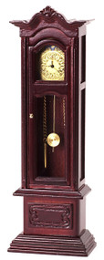 Working Grandfather Clock - Mahogany