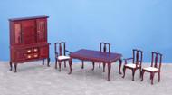 Dining Room Set - Mahogany