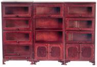 Lawyers Bookcases - Mahogany