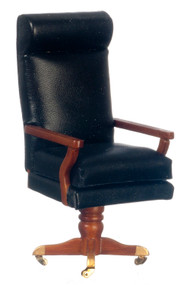 JFK Desk Chair - Walnut