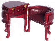 Chadwick Desk - Red Mahogany
