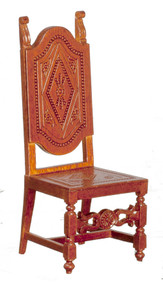 17th Century Spnish High Back Chair - Walnut