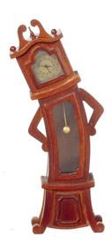 Woncky Working Clock - Walnut