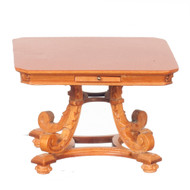 Square Top Table - Maple