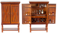 Bar Cabinet with Accessories