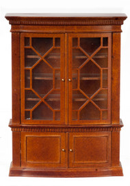 Late Georgian Bookcase - Walnut