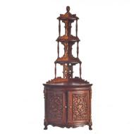 Madame Curie Corner Cabinet - Walnut