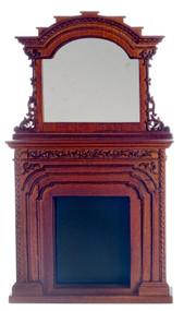 Chester Fireplace - Walnut