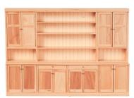 Kitchen Wall - Oak