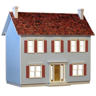 The Jamestown Dollhouse Kit