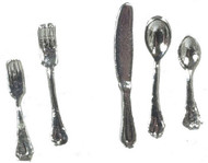Dollhouse City - Dollhouse Miniatures Flatware Set
