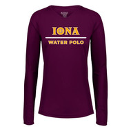 Iona Water Polo Ladies Long Sleeve V Neck