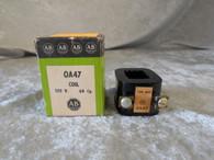 Allen Bradley (0A47) Coil 120V 60 Cy., New in Box