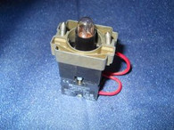 Telemecanique Contact Block (ZB2-BE101) w/ Pilot Switch Base Z-BW06, New Surplus