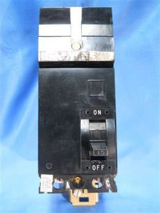 Square D (FA24015AC) 2 Pole 15 Amp Circuit Breaker, Used/Cleaned Tested