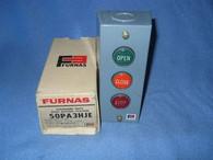 Furnas Standard Duty Push Button Station (50PA3HJE) New Surplus