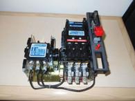 Telemecanique Combo Starter (A821C) 30A, Open 27 Amps Encl. 6 w/ A103C, Used