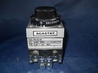 Agastat (7012L9C) Timing Relay 1.5-15 SEC., Used