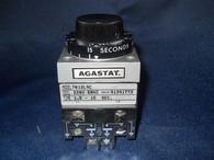 Agastat (7012L9C) Timing Relay 1.5-15 SEC., Used