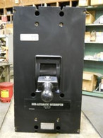 PC32500WK 2500 Amp Non-Auto Circuit Breaker Westinghouse Used / Cleaned / Tested