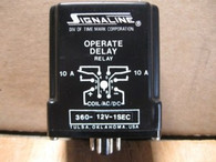 TIME MARK OPERATE DELAY RELAY (360-12V-1SEC) NEW SURPLU