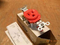 Slater (IG52610R) Box of 10, Isolated Ground Receptacle, New Surplus in Original