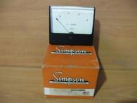 SIMPSON PANEL MOUNT (AC AMPERES) 0-800 SCALE #12747952