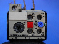 Siemens Allis (OLR2500CS2) 16-25 Amp Overload Relay, New Surplus