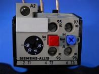 Siemens Allis (OLR1600CS2) 10-16 Amp Overload Relay, New Surplus