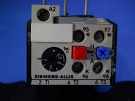 Siemens Allis (OLR0630CS1) 4-6.3 Amp Overload Relay, New Surplus
