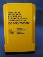 Potter & Brumfield (CGF-38-48050M) Time Delay Relay, New Surplus