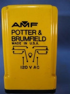 Potter & Brumfield (CDA-38-70015) Time Delay Relay, New Surplus