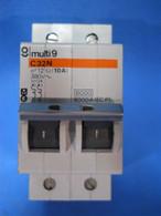 Merlin Gerin Multi9 (20124) C32N 2P 10A 380V Circuit Breaker, New Surplus