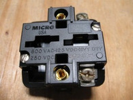 EHONEYWELL MICRO SWITCH CONTACT BLOCK (PTCE) NEW SURPLUS