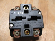 HONEYWELL MICRO SWITCH CONTACT BLOCK (PTCF) NEW SURPLUS
