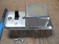 Bussman (SSU) Fusetron Handy Box Cover w/ Type S Fused Switch, New Surplus