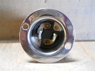 Bryant (7466) 2 Pole 2 Wire Midget Locking Male Base, Box of 10, New Surplus