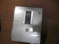 Allen Bradley Stainless Steel Starter Enclosure (509-ACB) New Surplus