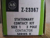 Allen Bradley Contact Kit Z-23367 Size 1 3 POLE KIT New