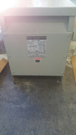 MGM 15 KVA Transformer HT15C3B2SH 240 - 208y/120 3 phase 60 Hz Type HT w/ Electro Static Shield