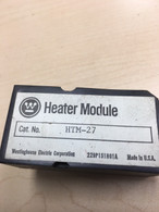 Westinghouse (HTM-27) MOR Relay Heating Module, 229P151H01A, Used