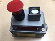 Industrial Controls EDSC2708 Push Button Switch w/ Pilot Light for Hazardous Location 600 VAC