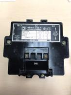 Square D Size 4 Motor Starter 8502SF02S 3 Phase, 120/110v, Used