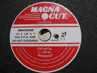 Continental Magna Cut Reinforced Cut Wheel (178142) lot of 7 pieces