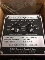 BBC Brown Boveri (202K8361UL) Ground Fault Shield, 100-1200 amp INST-0.5 sec